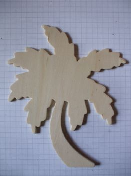 Birch Ply Wooden Palm Tree Wood Craft Shape